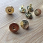 Preview: MAGNET VERSCHLUSS 18 MM GOLD