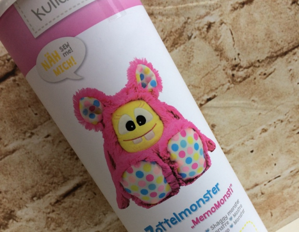 "Kullaloo Materialset Zottel-Monster ""MemoMonsti"" pink"