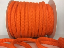 BAUMWOLLKORDEL 1CM ORANGE